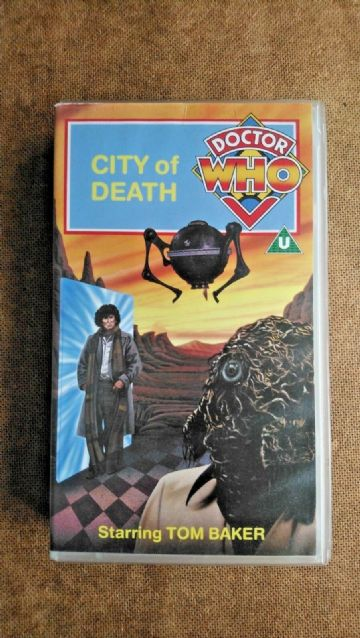 Doctor Who The City of Death VHS